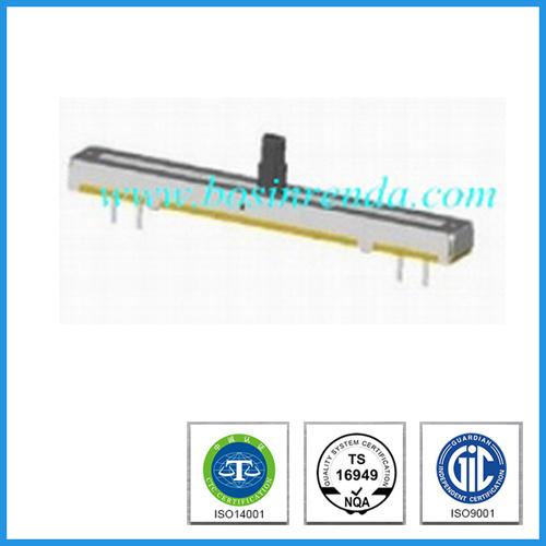 Slide B100k Linear Potentiometer with Plastic Shaft