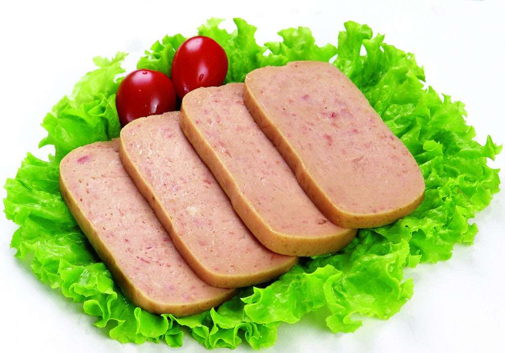 198 G, 340 G Chicken Luncheon Meat with 70% Meat