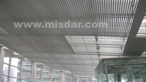 New Style Aluminium Sun Louver