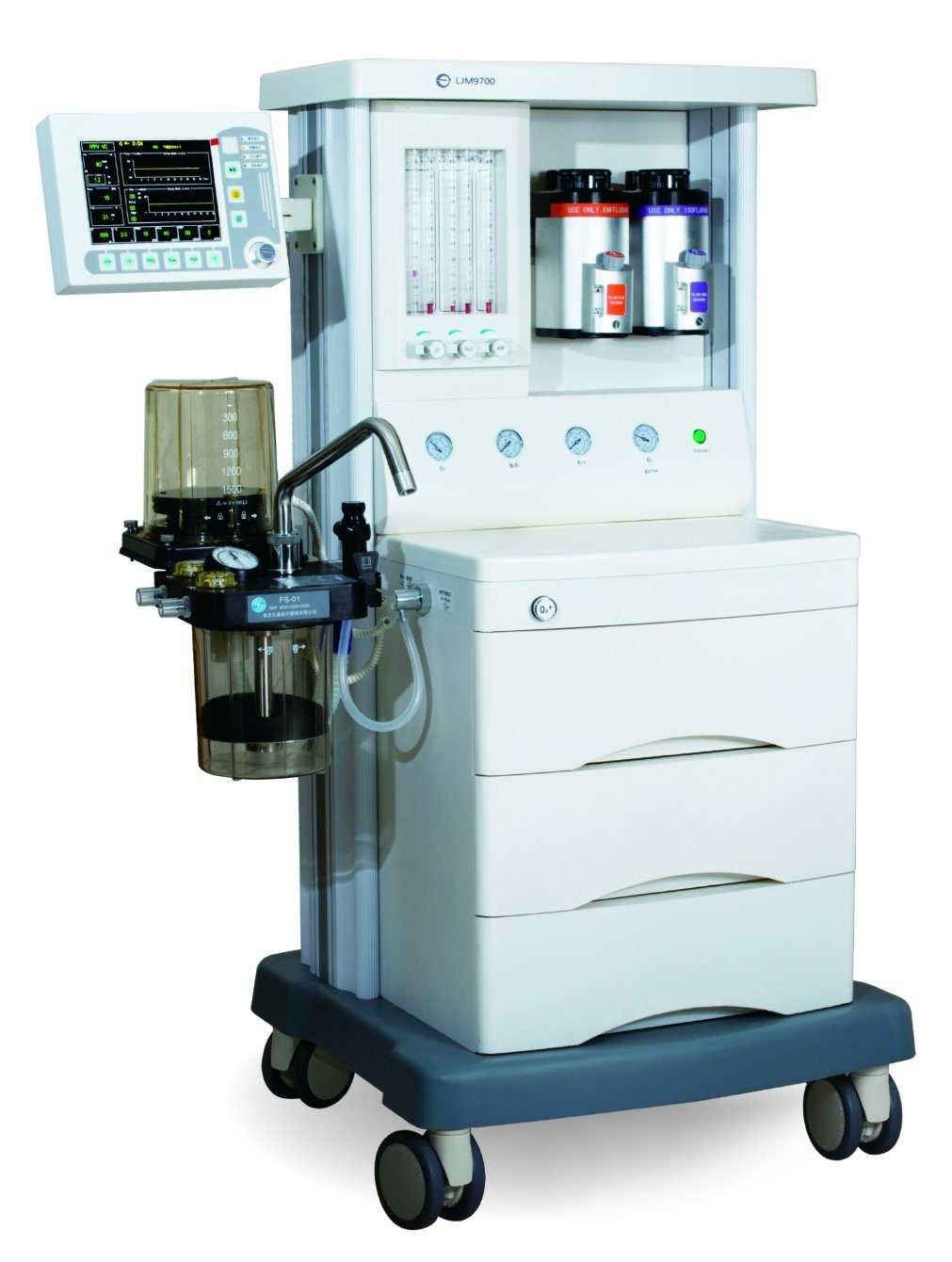 Advanced Medical Anaesthesia/Anesthesia Machine Ljm9700 with Ce Certificate