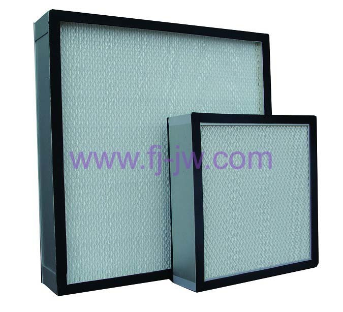 Mini Pleated HEPA Filter H13, H14, HVAC Filter, for Laminar Flow Hood, Cleanroom, Fume Hoods, Laboratory