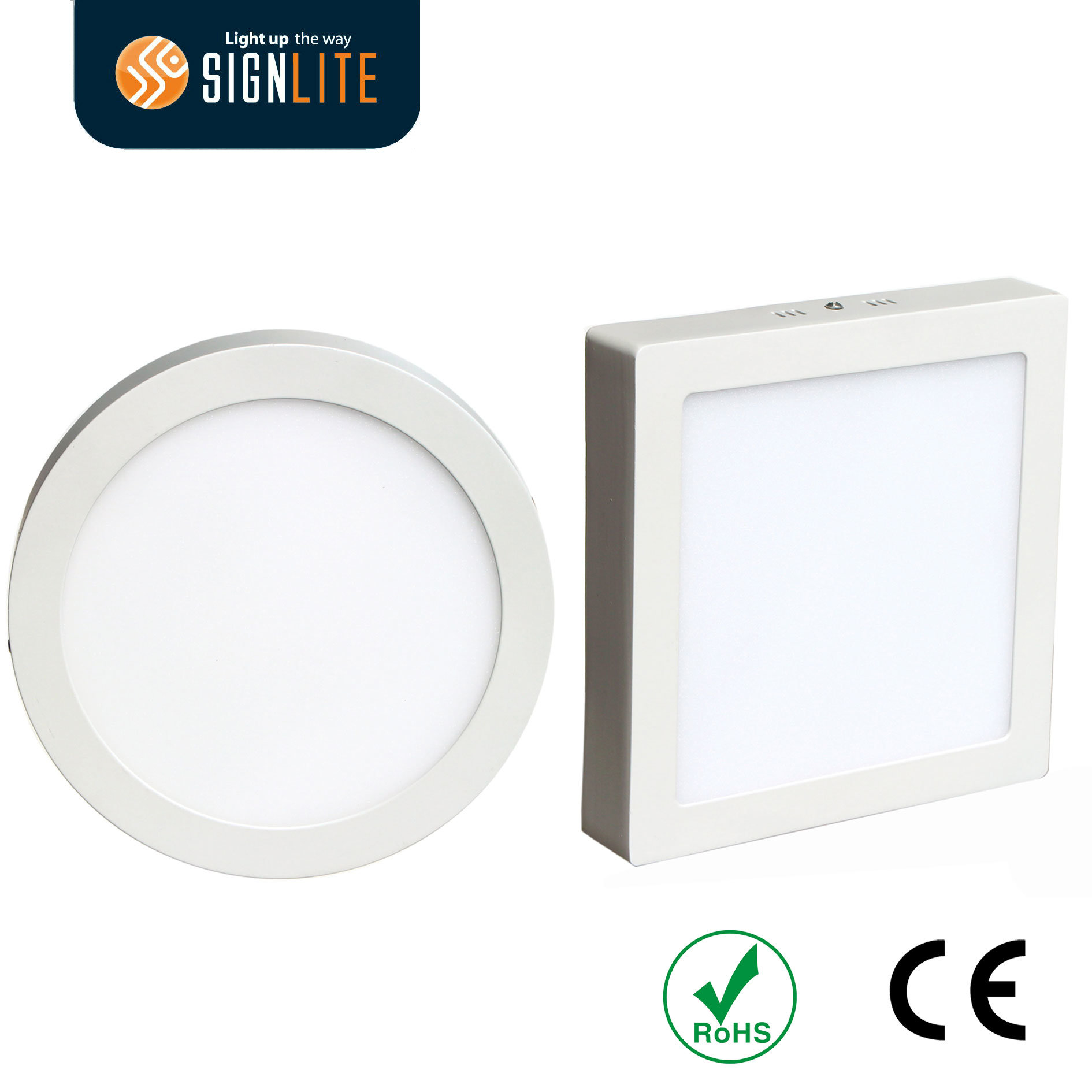 China Surface Mounting Installation Square Or Round 6W 12W 18W 24W LED Downlight Panel Light