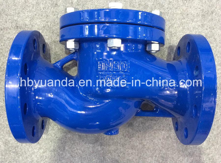 DIN3202 Cast Iron Lift Check Valve China pn16