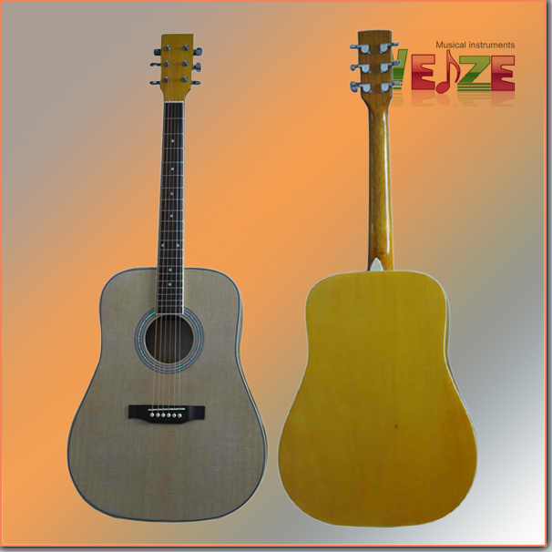 """41""""Spruce Plywood Acoustic Guitar"""