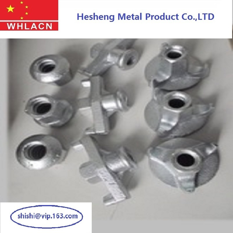 Building Material Tie Rod Formwork Accessories Wing Nuts