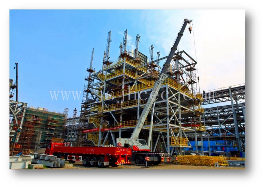 Incinerator Frame Steel Structure