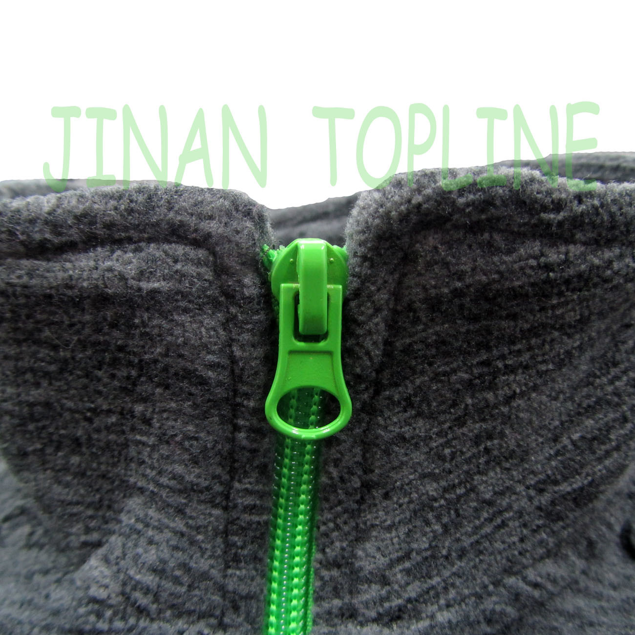 Children Black Cationic Micro Fleece Spandex Fiber Stitching Color Casual Jacket