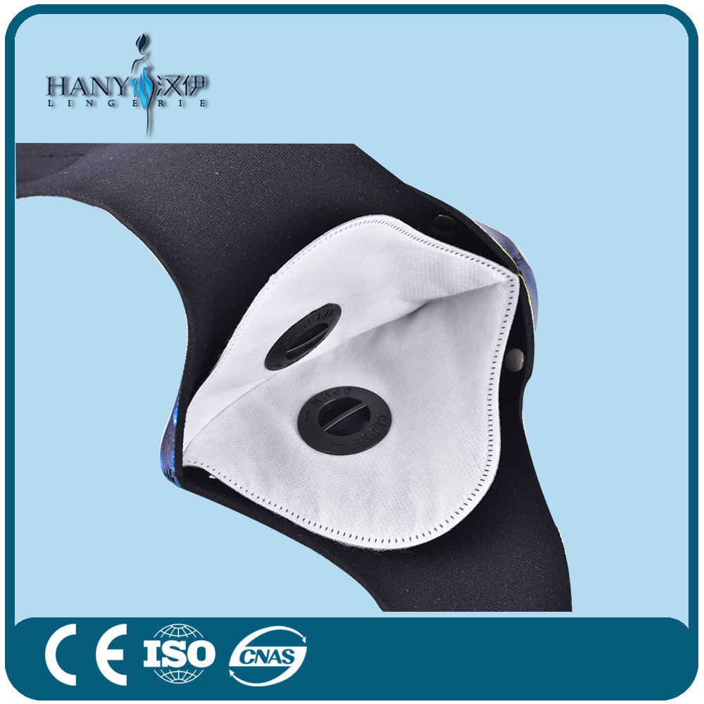 Activated Carbon Air Filter Sport Face Mask