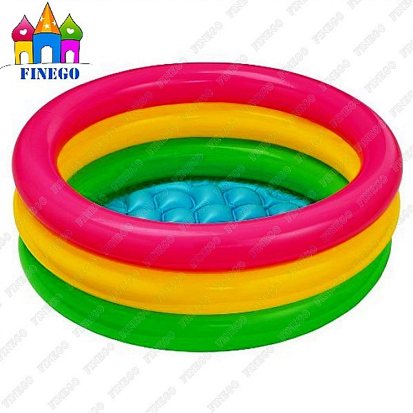 Kids Colorful PVC Inflatable Swimming Pool