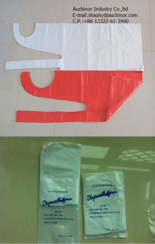 High Quality Disposable HDPE LDPE Thin PE Apron