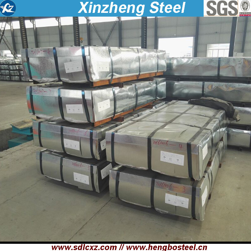 Roofing Sheet Metal Steel Building Material Galvanized Corrugated Steel Sheet