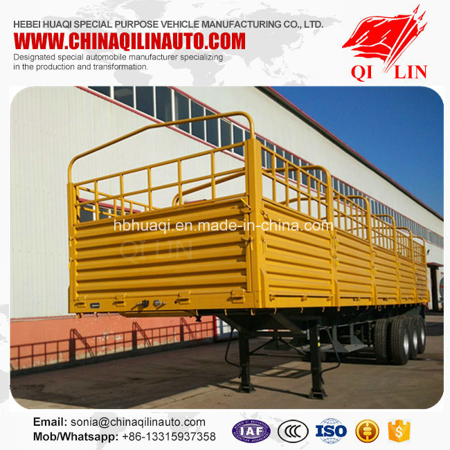 Cheap Price Side Wall Container Semi Trailer with Good Product Quality