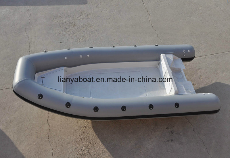 Liya Supply Rib 420 Boat Motor Inflatable Boat Sport Yacht Type