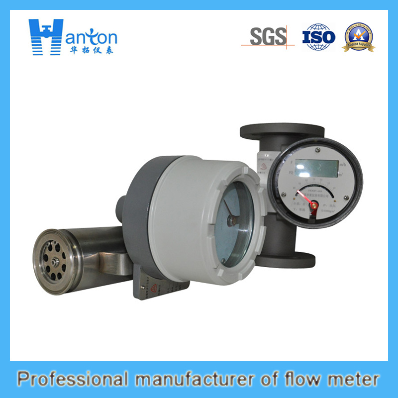 Horizontal Installation 304 Metal Tube Rotameter for Dn50-Dn100