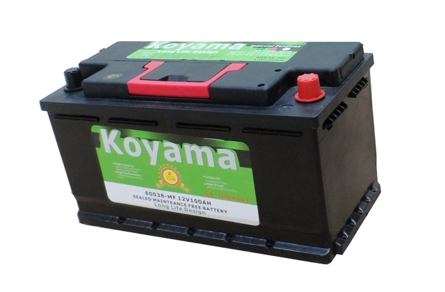Factory SMF Rechargeable Car Battery Auto Battery DIN55559-Mf 55ah 12V