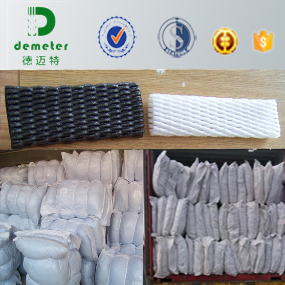 Wholesale Singapore Glass Wine Bottle Packaging Foam Sleeve Net