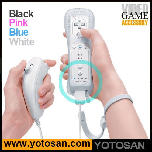 Remote Controller Game Controller Gamepad Pad Player for Wii