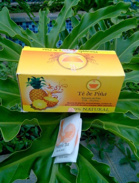Del Pineapple Dr Ming Pineapple Slimming Tea