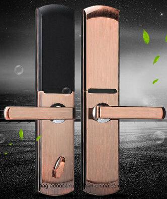 Economical Interior Wooden Rounded MDF PVC Door (EI-P057)