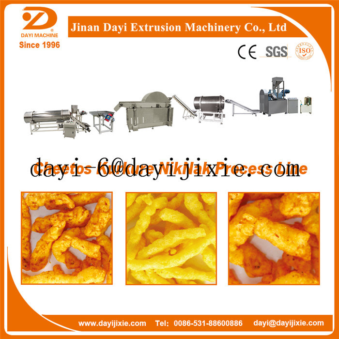 Cheetos Kurkure Puffs Cheese Snack Food Extruder