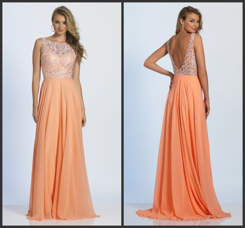 Coral Mother of The Bride Gown Prom Gowns Lace Evening Dress Y112