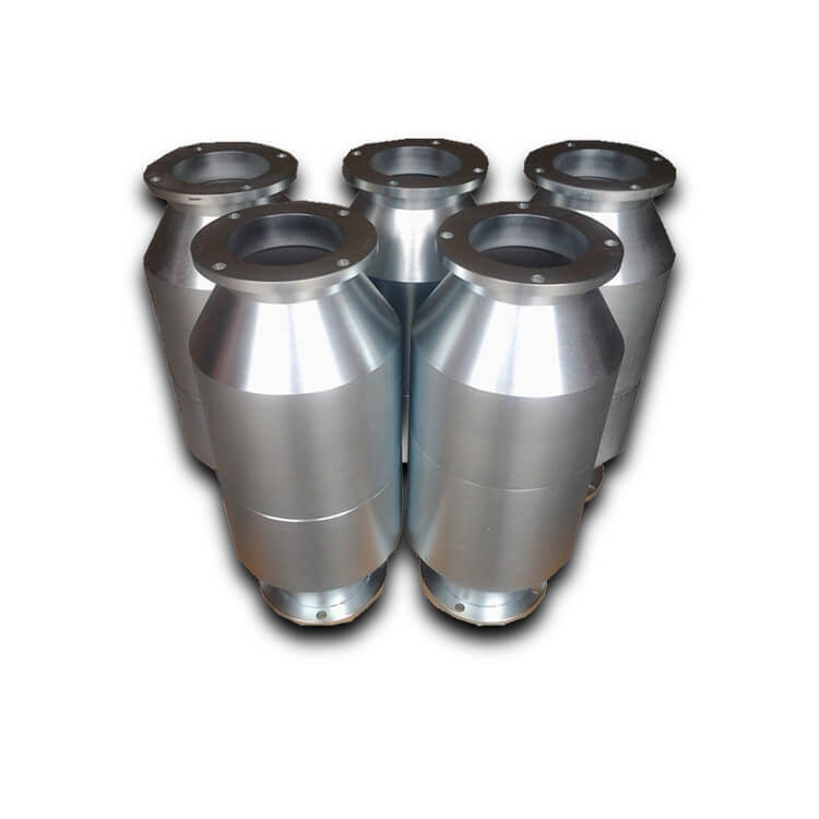 Universal Fit Three Way Catalytic Converter Cylinder for Petrol Vehicle
