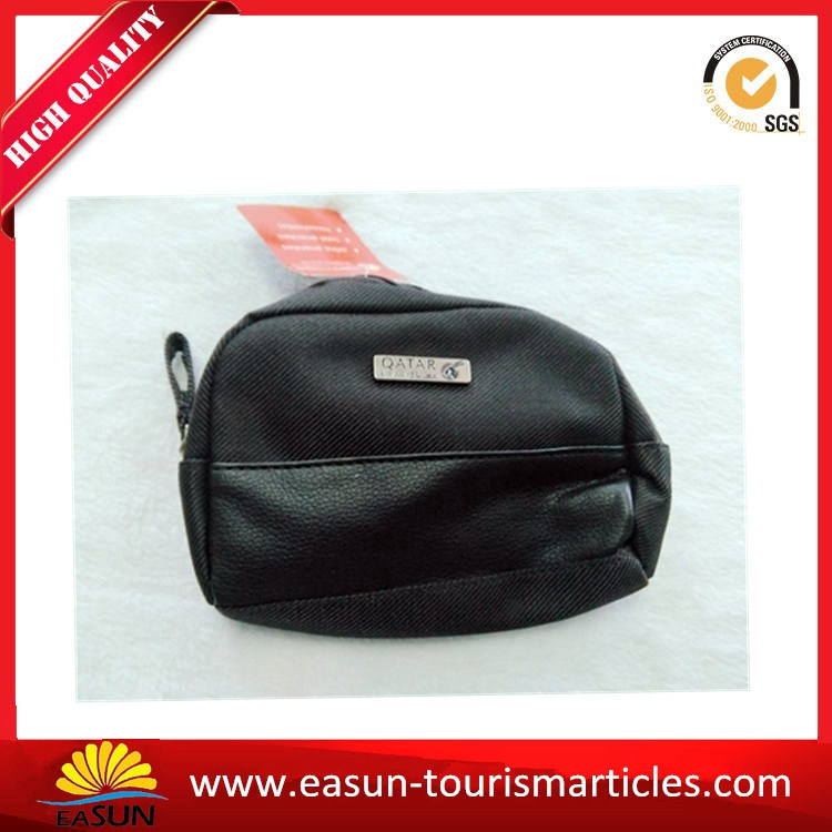Custom Printed Non Woven Recycle Toiletry Bag for Travel