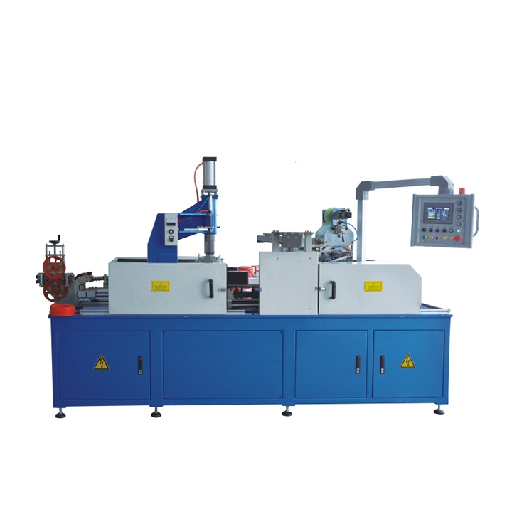 Automatic PLC Cable Coiling Wrapping Machine Cable Packing Machine