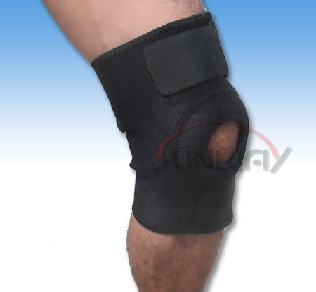 Hot Sale Neoprene Knee Support with Hole in Knee (NS0009)