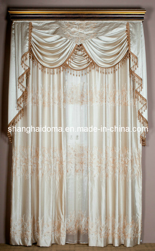 Silk Fabric Curtains Photos & Pictures