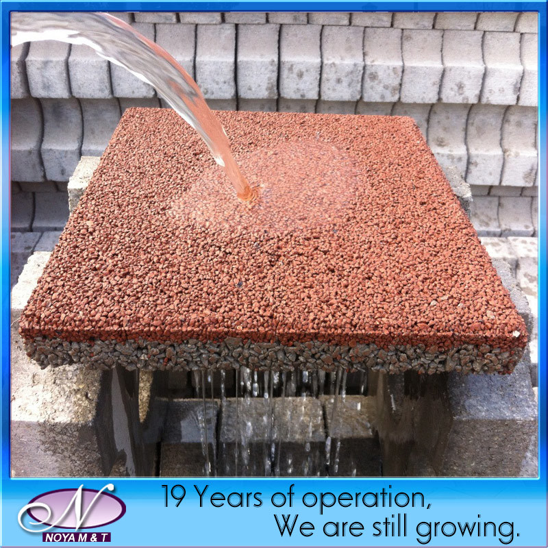 Pottery Brick Floor Wurm: China Porous Pervious, Ceramic Water Permeable Brick Paver