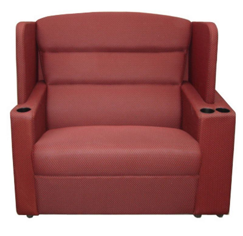 Cinema Couple Seating Theater Lover Seat VIP Sofa Chair (SC)