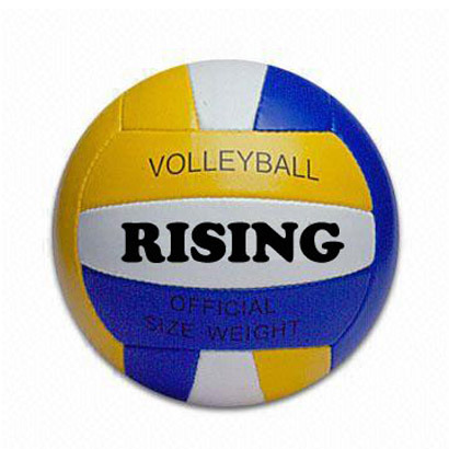 Volleyball, Size 5, PVC Cover, Machine Stitching (B03208)