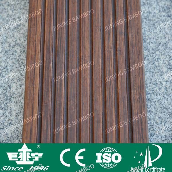 China high resistant cooffee outdoor bamboo flooring for Bamboo flooring outdoor decking