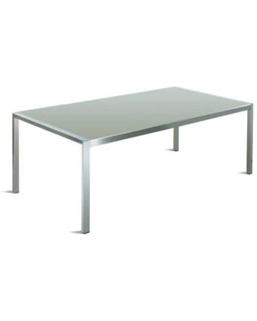 China Stainless Steel Dining Table SH 2010 TB GS China Table
