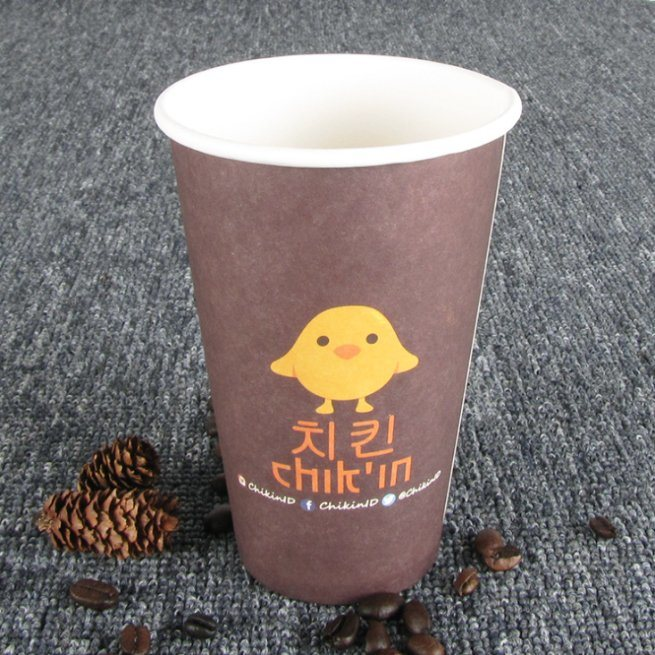 6 Oz Single Wall Style Disposable Paper Cup