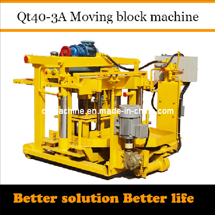 Hollow Block Machine 400X200X200 Qt40-3A Dongyue