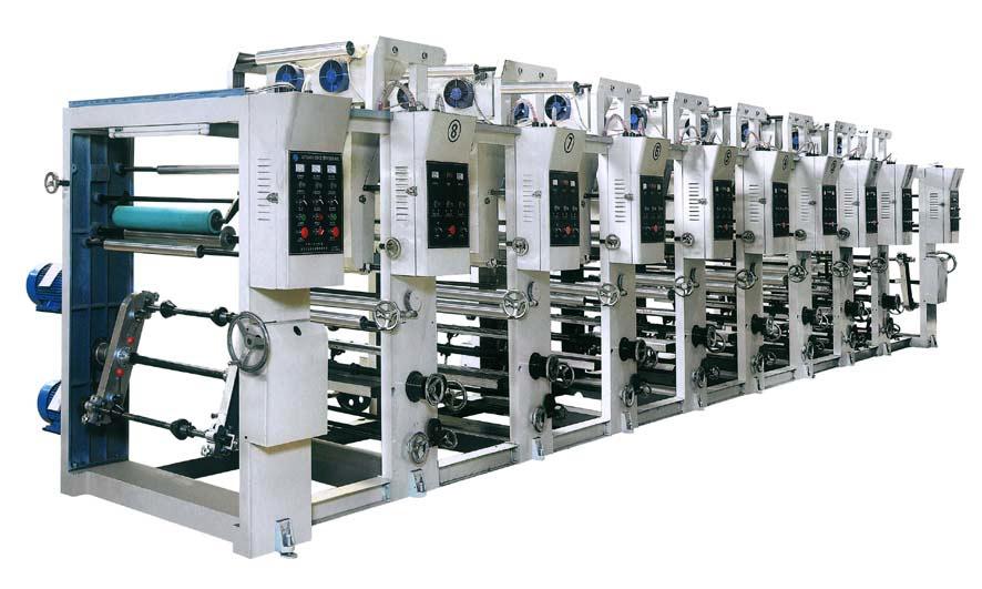 BOPP\Pet\PVC and PE Rotogravure Printing Machine (ASY)