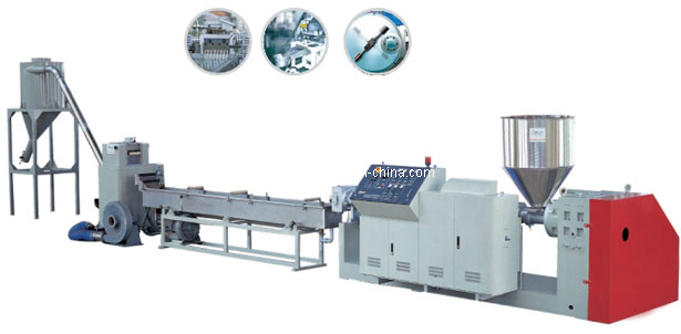 PP/PE Recycle Plastic Granulating Machine /Pelletizing Line Machine