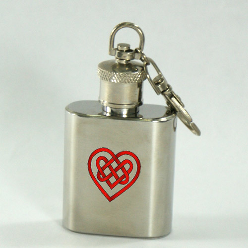 China Hip Flask Keychain (H-1oz-001b) - China hip flask ...