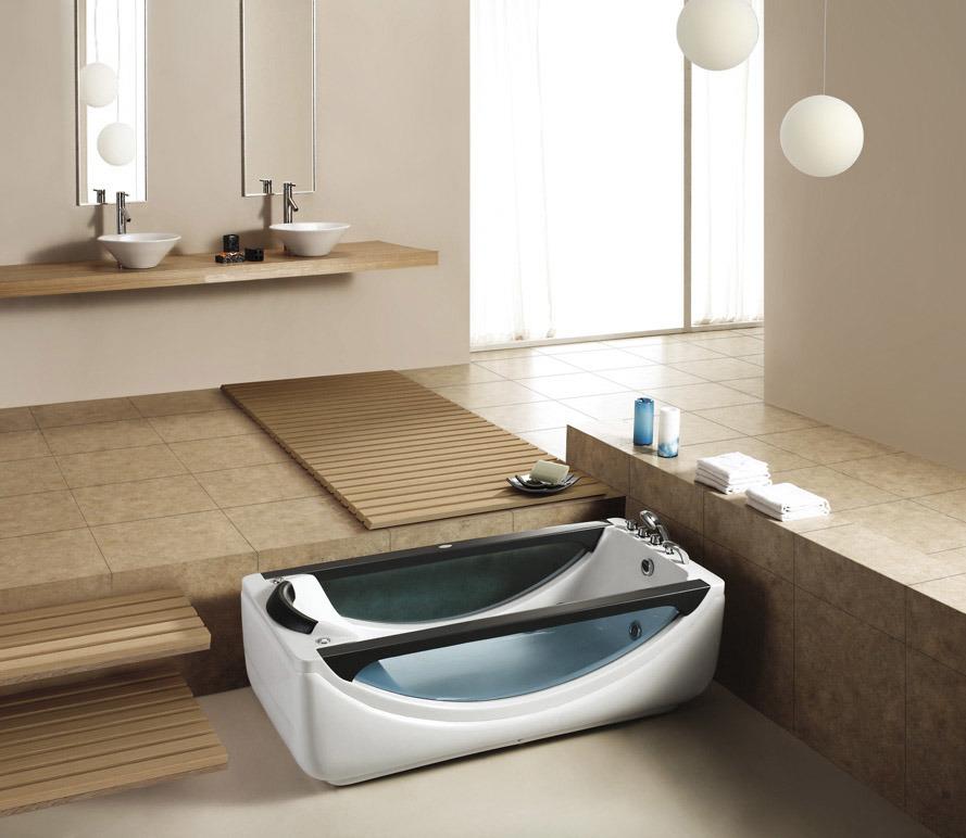 China Monalisa Indoor Whirlpool With Jacuzzi China Indoor Whirlpool With Ja