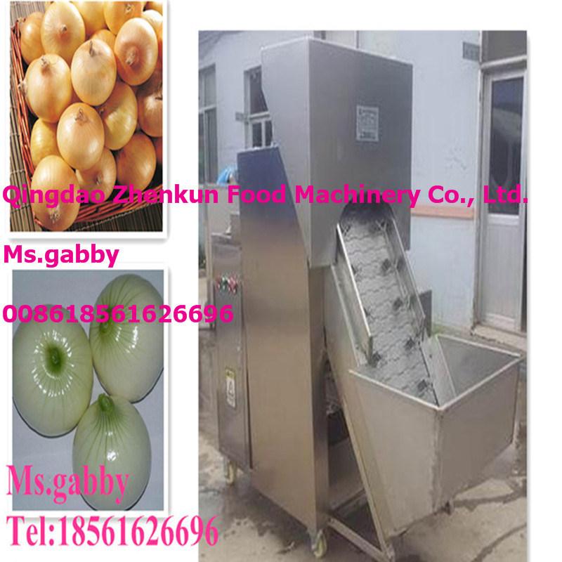 Automatic Onion Skin Peeling Machine / Onion Peeler