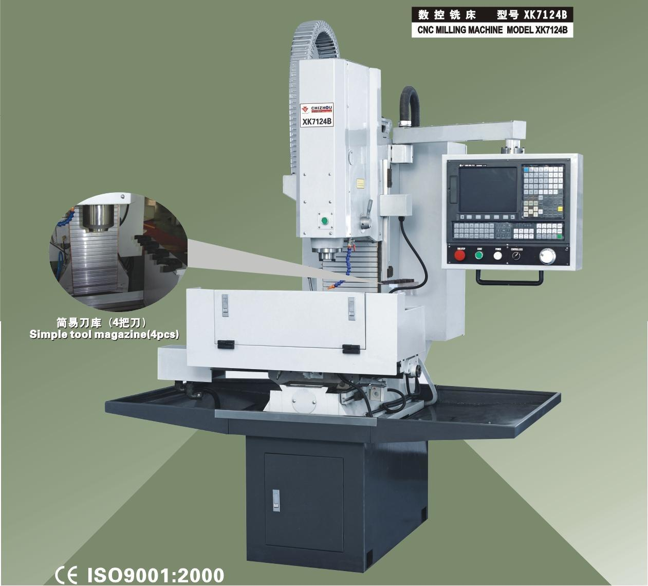 CNC Milling Machine (XK7124B)