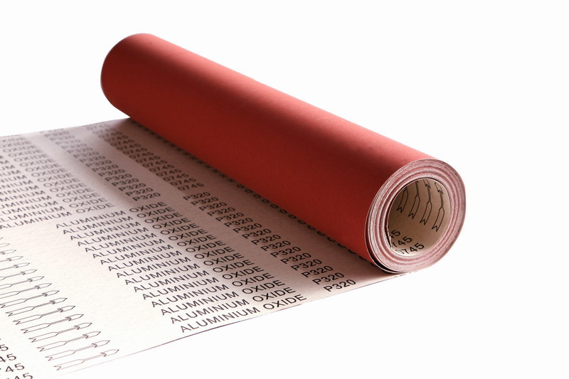Sand Paper Rolls--E, F Weight Paper