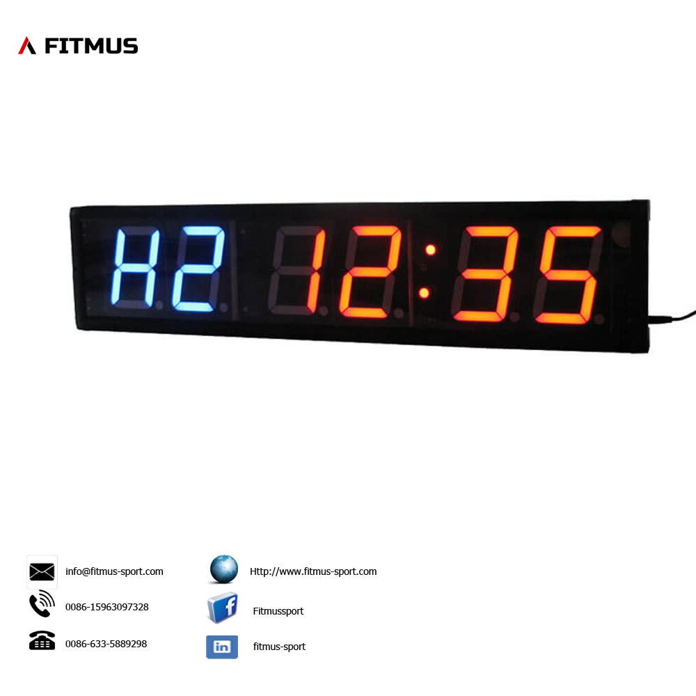 Interval Timer Workout Timer Exercise Timer Boxing Timer Fitness Timer Crossfit Timer Clock Workout Interval Timer Digital Gym Clock Hiit Interval Timerboxing