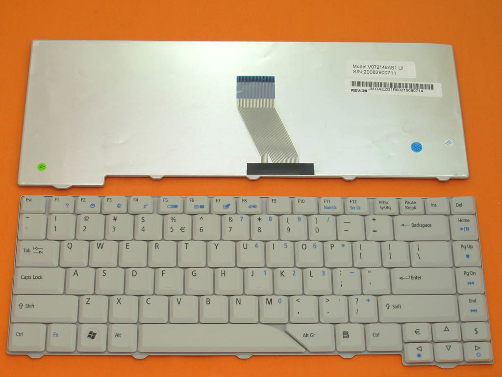 Instructions for acer keyboard