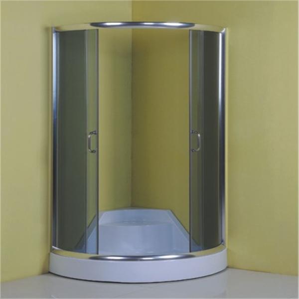 Italian Chrome Complete Simple Design Glass Bath Shower Cabin Price