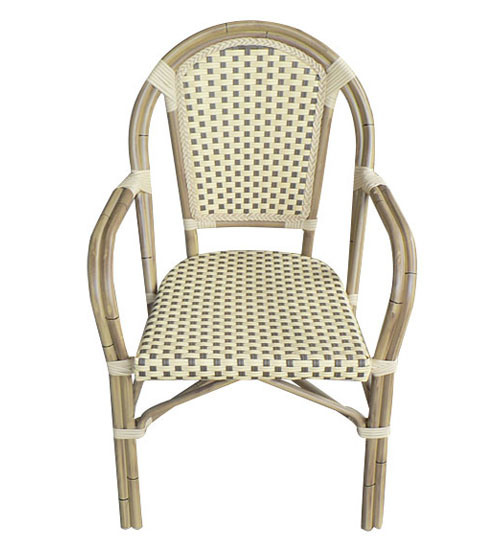 China Rattan French Bistro Chair For Cafe Shop Restaurant LZ 025 China Fr