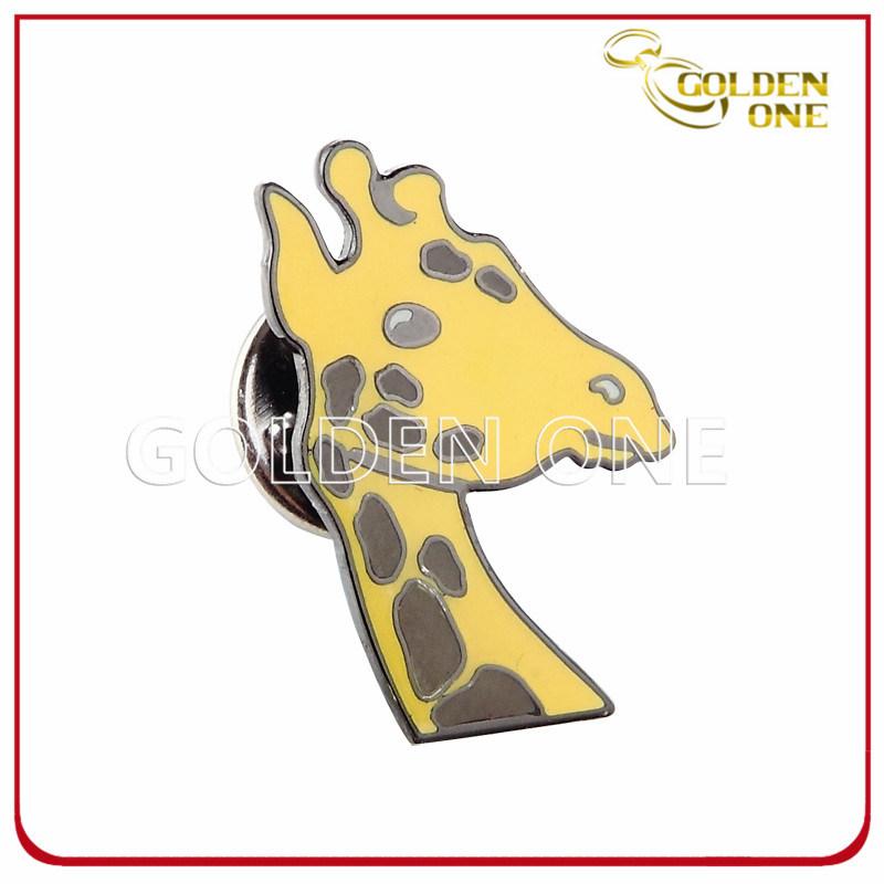 Nickel Finish Custom Design Hard Enamel Metal Lapel Pin