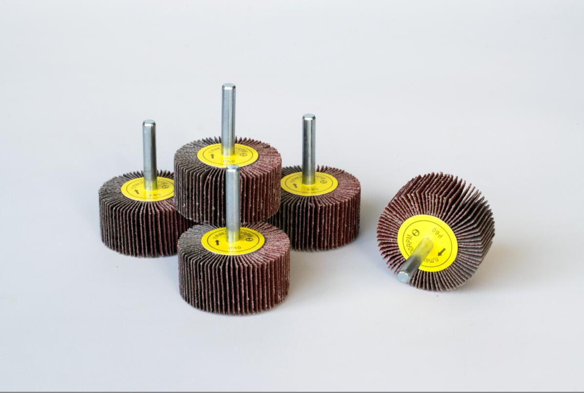 "Miniature Mounted Flap Wheels (with1/8"" Shaft)"